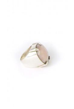 Rose Quartz Stone Ring