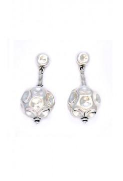 Silver Baubel Earrings