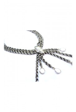 Silver Spider Necklace