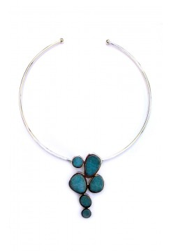 Andean Opal Choker Necklace