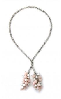 Rose Quartz Wrap Necklace