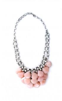 Rose Quartz Droplets Necklace