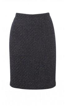 Metallic Wool Skirt