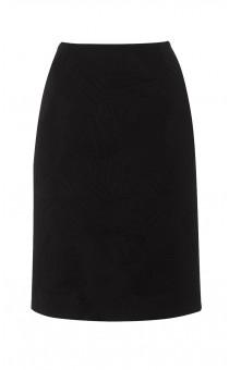 Black Quilted Paris Skirt