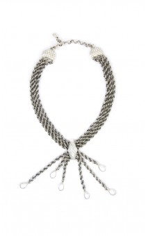 Silver Spider Necklace